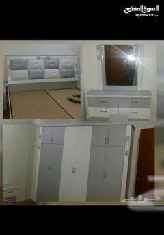 غرفة نوم 6قطع مع اتركيب 1300دخل