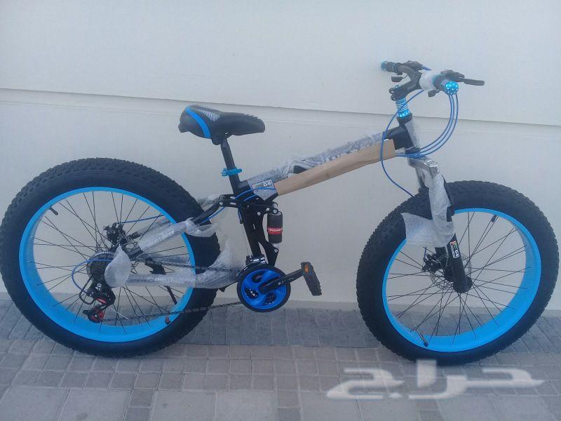 دراجه لاند روفر رملي سيكل قابل للطي ينصفط