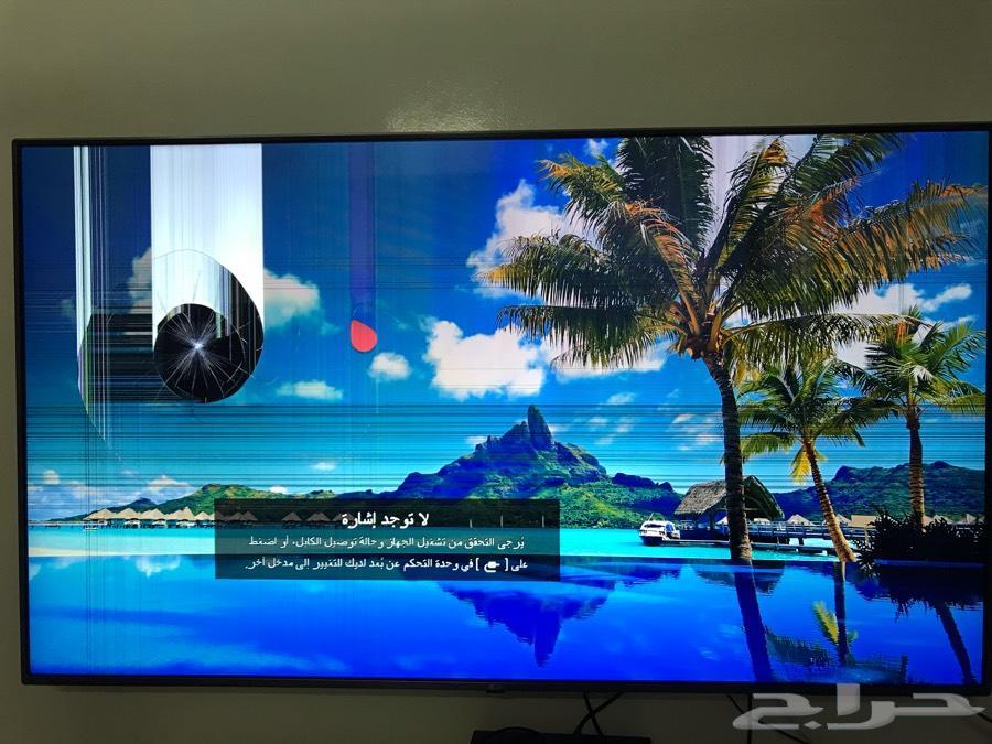 شاشة مكسورة 65 بوصة للبيع