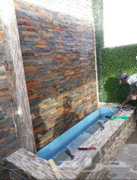 تنسيق حدائق واسطح المنزل