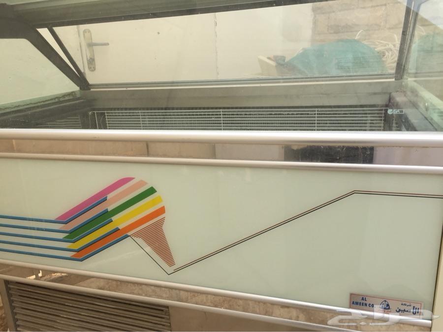 ثلاجات اسكريم للبيع