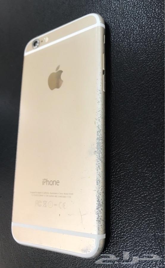 ايفون 6 - iphone 6 - ذهبي 64 نظيف