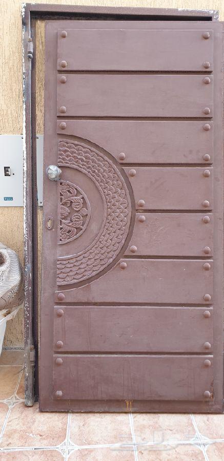 باب حديد مستعمل