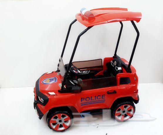 سيارة شرطة للأطفال بشكل جديد