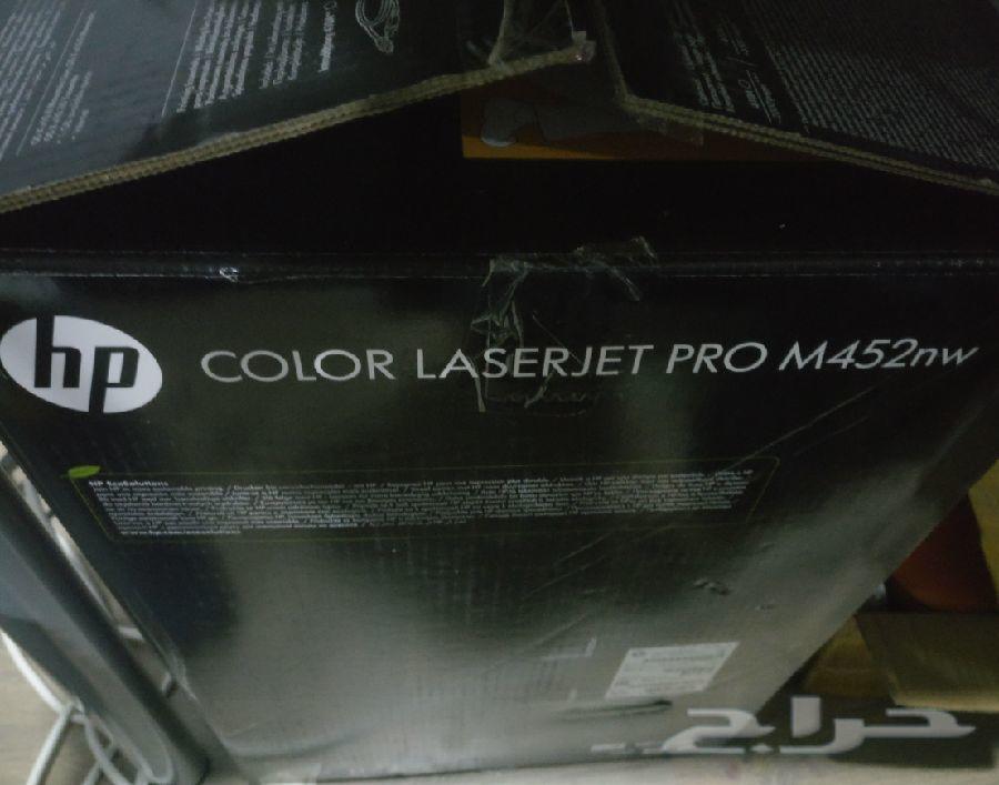 طابعة ليزرHP ملونه جديدة ( إحترافيه ) HP M452