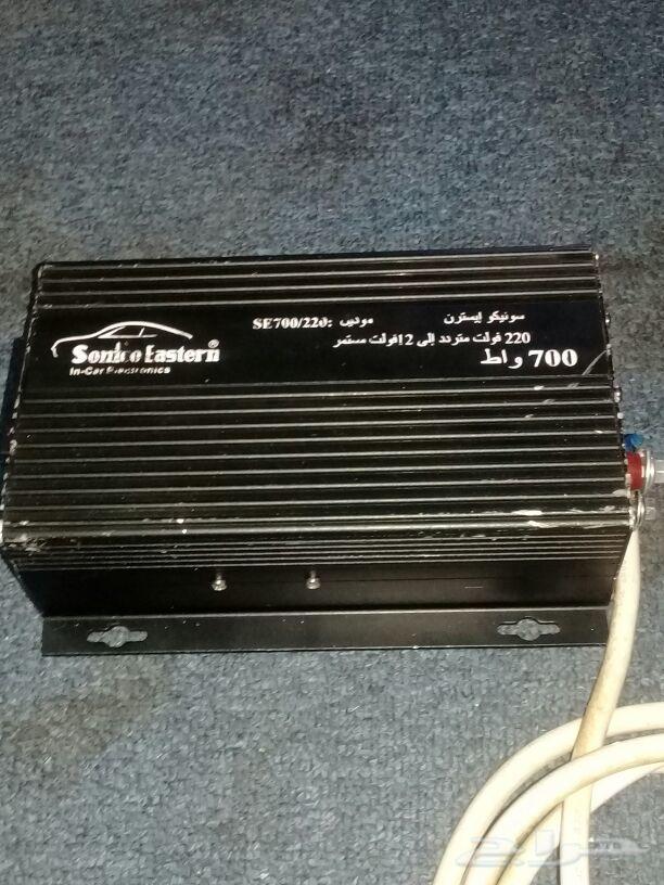 محول سيارة  12 فولت إلي 220 كهرباء
