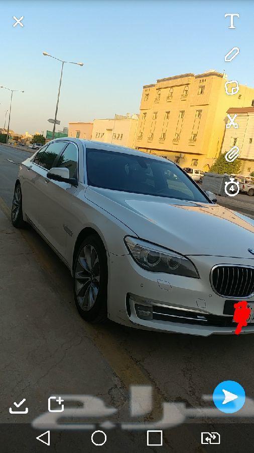 BMW business 730 Li 2015 تحت الضمان