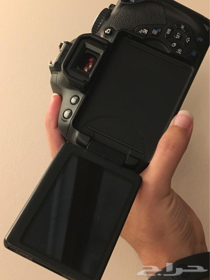كاميرا كانون إحترافية 650D - لون أسود