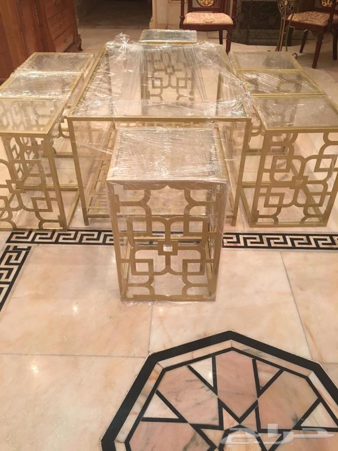 »  طقم طاولات فاخرة للبيع (جديد)
