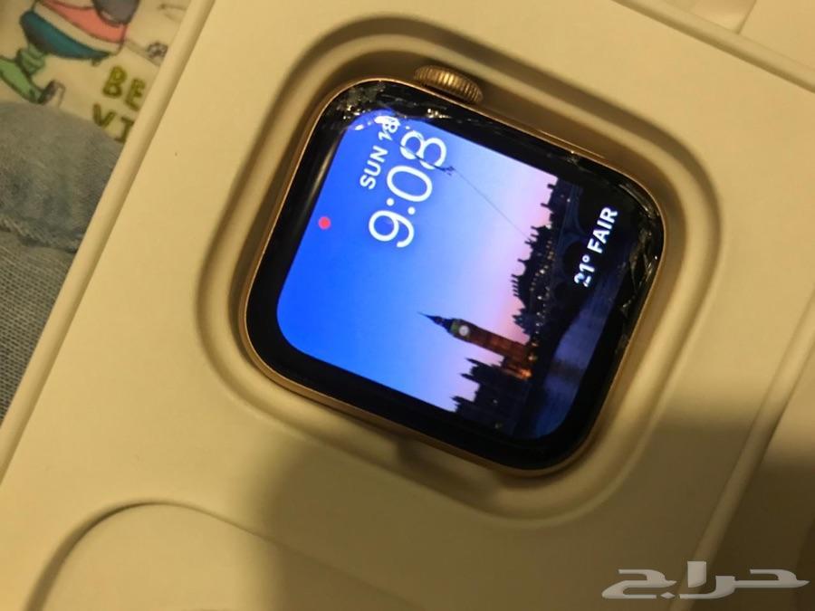 ساعة ابل سيريس 4 للبيع 40 مل apple watch