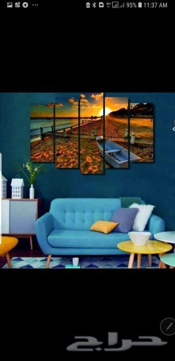 لوحات جدارية فخمة