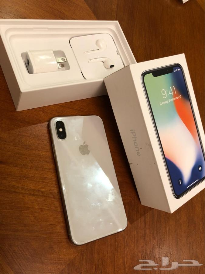 ايفون X 256 و ايفون8 64 للبيع