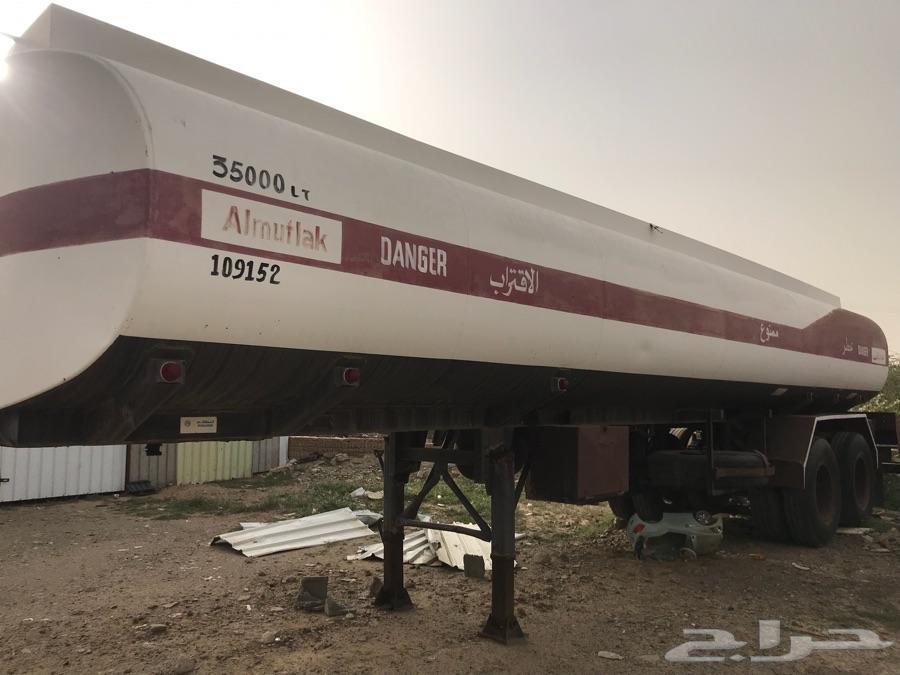 تانكي بنزين للبيع 35000لتر