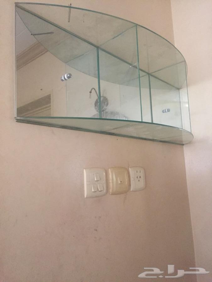 مغسلة زجاجية مفرد-عنيزة