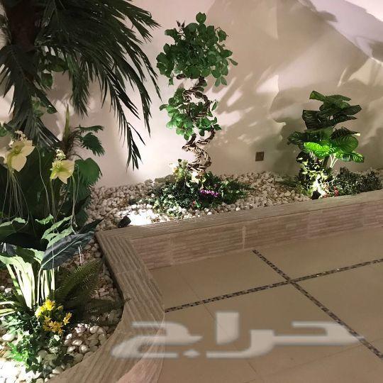 مصمم حدائق وديكورات وشلالات ونوافير وتركيب