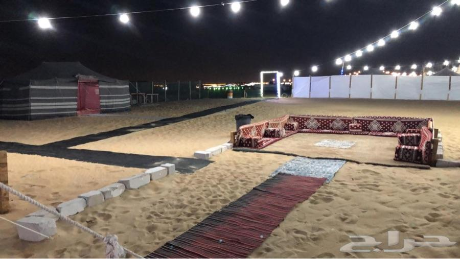 مخيم للايجار بالدمام