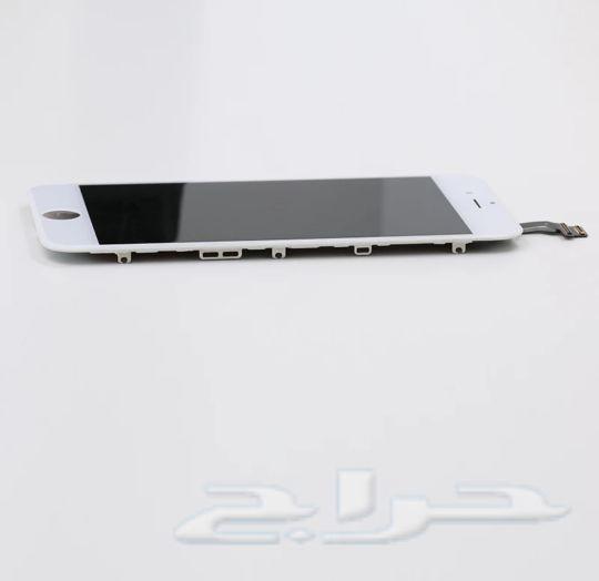 شاشة أيفون6 لون أبيض