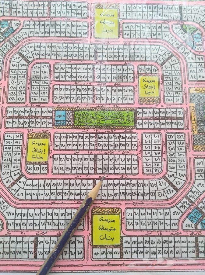 أرض للبيع بمخطط 122 حي الكوثر بعزيزية الخبر