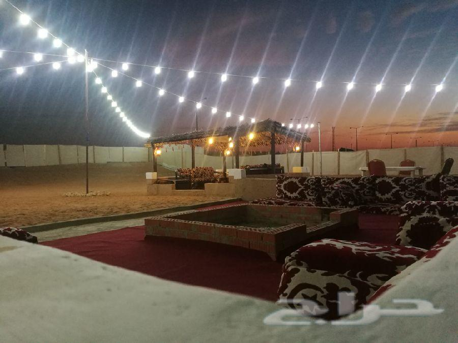 مخيم للايجار القسم ب 200 والقسمين ب 500