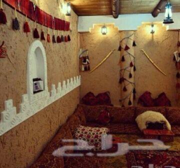 جبس ديكور غرف مجالس تراثية