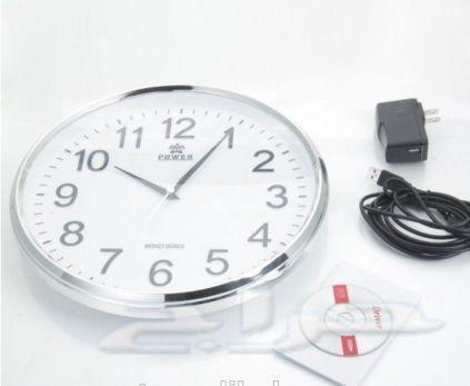كاميرا خفيه شكل ساعة حائط وكاميرات اخرى منوعه