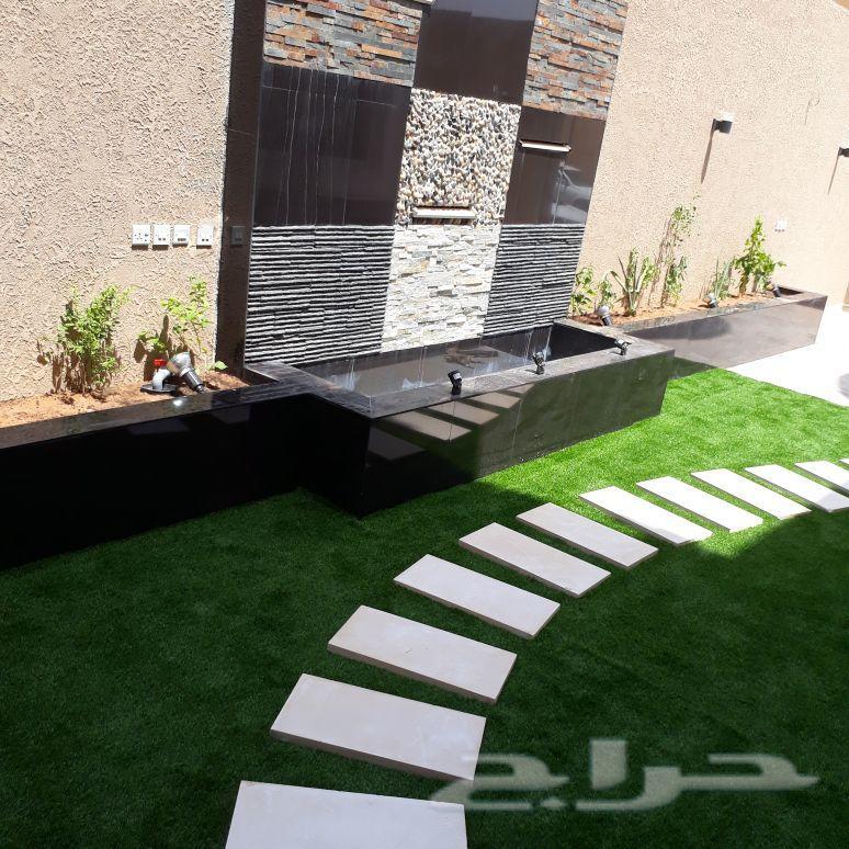 منسق حدائق ومصمم شلالات