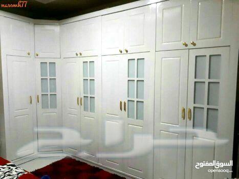 غرف نوم وطني خزائن مبتكره.دواليب زاويه وأسره.