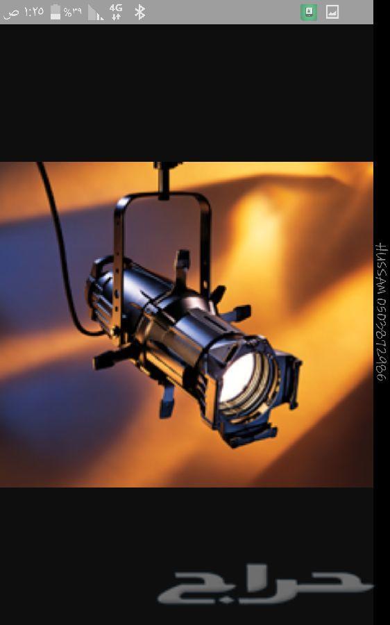 اجهزة اضاءة مسارح سماعات