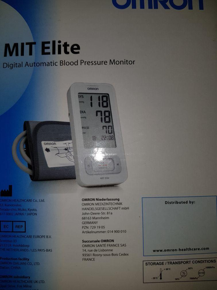 جهاز لقياس الضغط جديد لم يستخدم