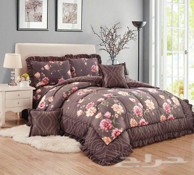 تشكيلة رائعة من مفارش السرير القطن