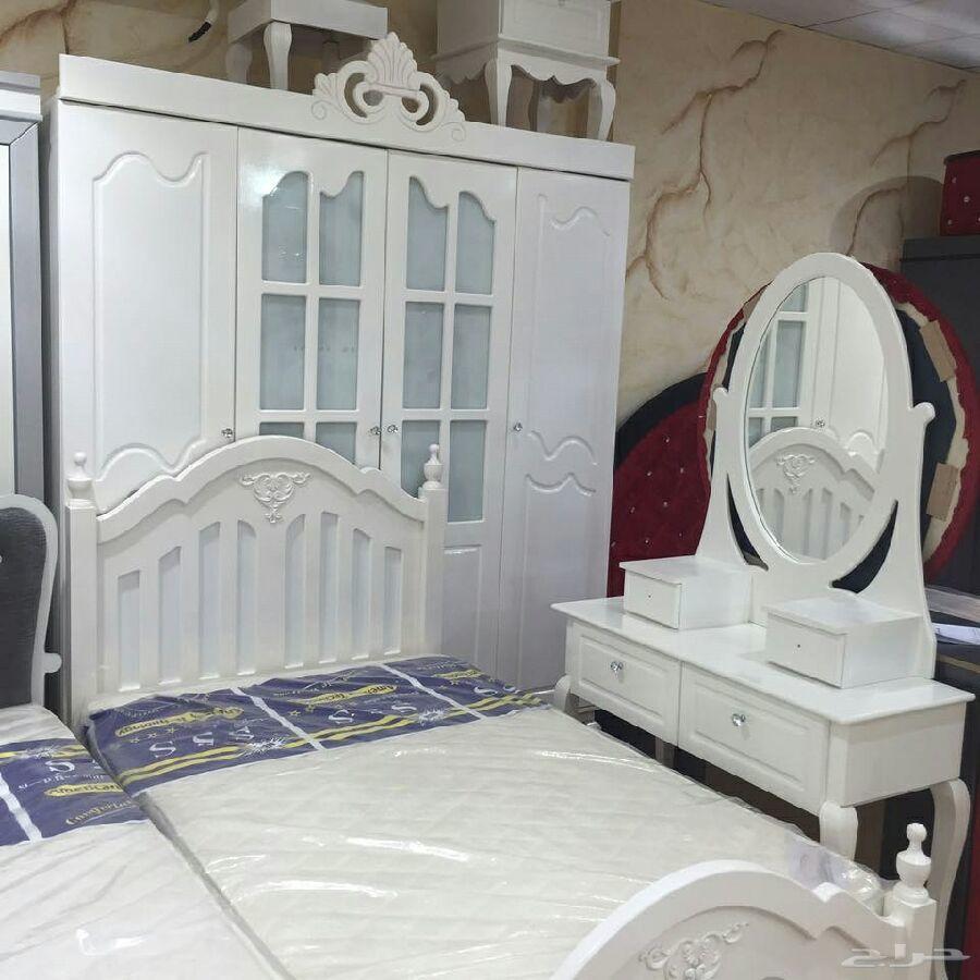 غرف نوم وطني جديده ألوان مختلفه جاهزه وتفصيل