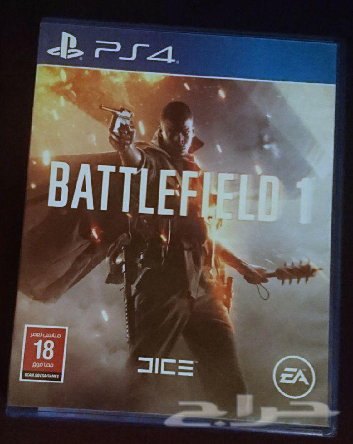ألعاب بلاي ستاشن PS4 مع الباك