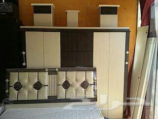 غرف نوم جديده الوان مختلفه السعر 1300ريال