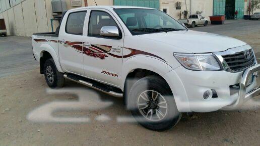 مكه - سياره هيلكس دبل سعودي