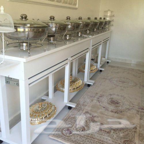 طاولات بوفيه المنزلية وشحن مجاني