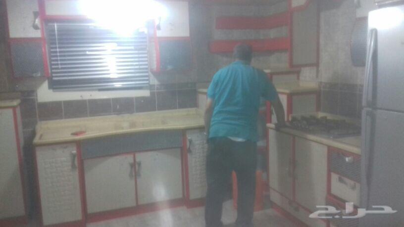 تركيب مطابخ المنيوم فنى ومعلم قص تعديل لحام