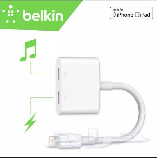 حراج الأجهزة وصلة ماركة Belkin للايفون 7 و 8 و X
