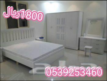 غرف نوم جديده علا 1800ريال