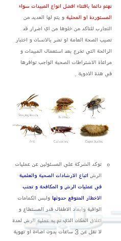 شركةتنظيف مجالس بالبخارورش حشرات والعتةبمكة