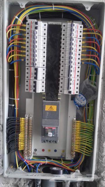 مقاول اعمال كهرباء