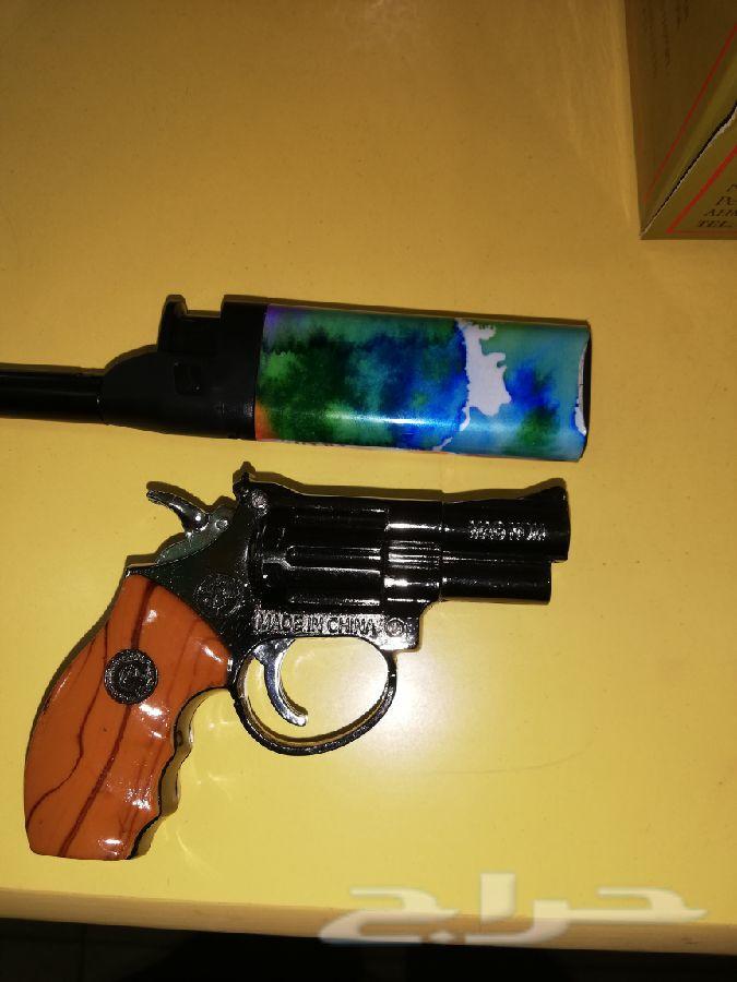 اطنخ وخل عيالك يطنخون قداحة على شكل سلاح