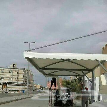 مظلات مضلات سواتر هناجر خيام قرميد حداده عامه