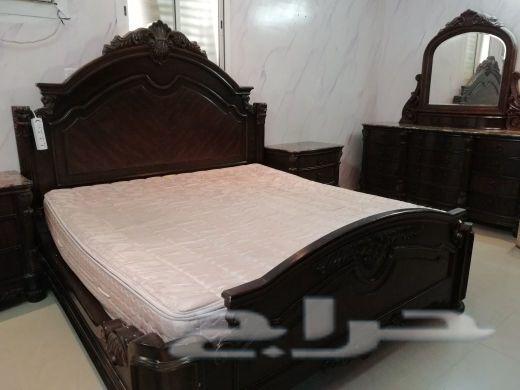 غرفة نوم خشب امريكي اصلي