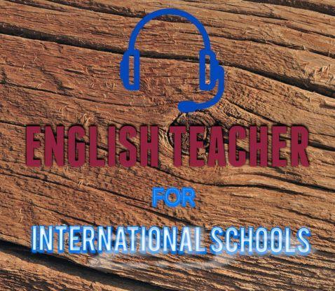 معلم لغه انجليزيه لطلاب المدارس الانترناشونال