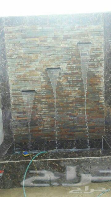 مشبات مناقل افران ملاحق تراثية شوايات شلالات