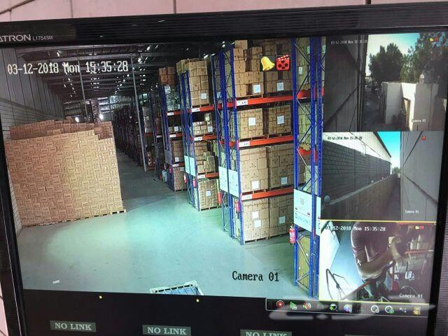 كاميرات مراقبة معتمد من الداخليه
