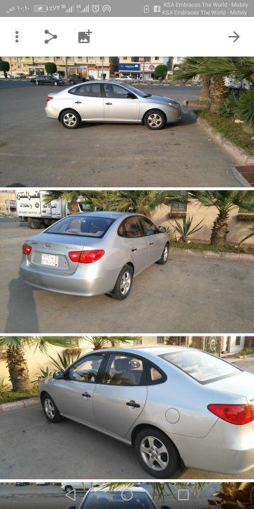 سيارة هونداي النترا للبيع