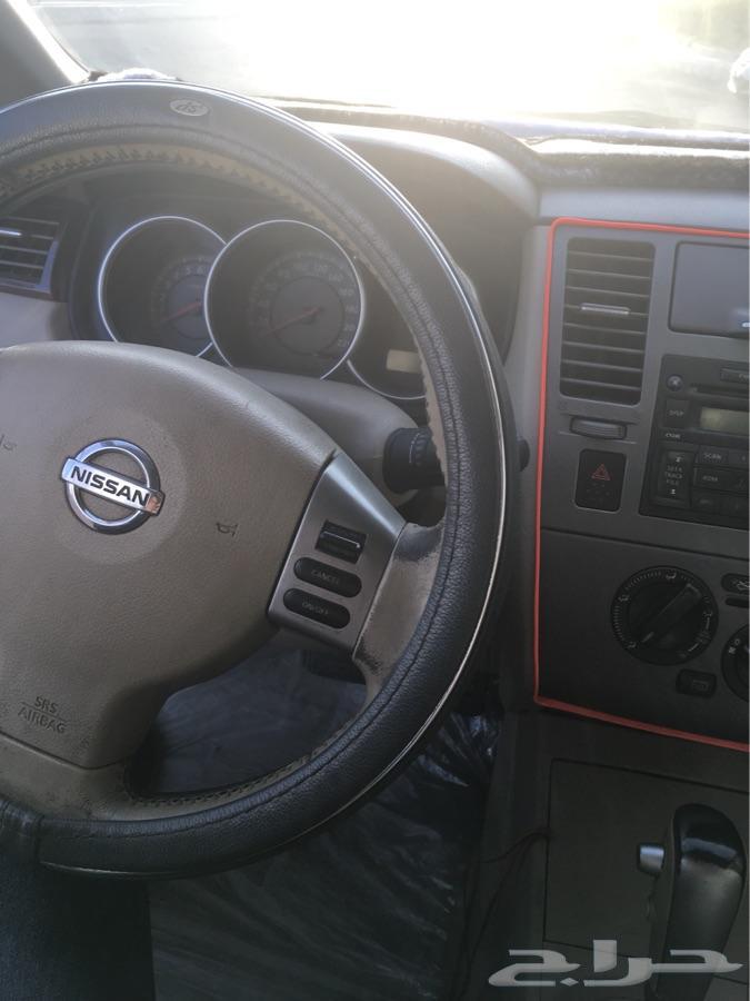 سيارة نيسان تيدا 2011 للبيع اتوماتيك