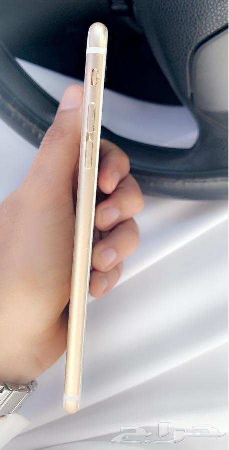 ايفون 6 بلس 64 قيقا ذهبي iphone