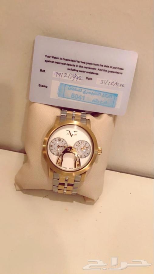 ساعة من ماركة فرزاتشي بقيمة 1200 ريال من